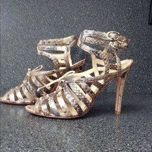 Alexandre Birman real Python leather sandals